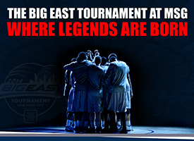 BIG EAST - 2014 Men's Tournament Ticket Campaign 2