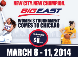 BIG EAST - 2014 Woment's Tournament Ticket Campaign