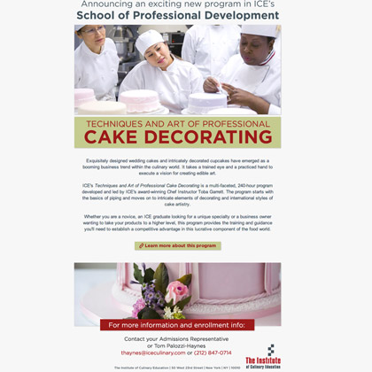 ICE - Professional Bread Baking Email