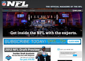 The NFL Magazine Website