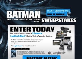 Batman The Dark Knight Returns Part 1 Sweeps