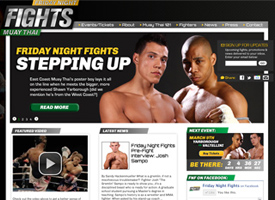 Friday Night Fights Website