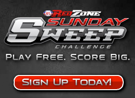 NFL RedZone Sunday Sweep Flash Banners