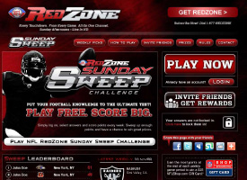 NFL Network RedZone Sunday Sweep
