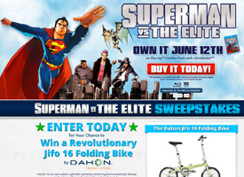 Superman vs. The Elite Sweeps